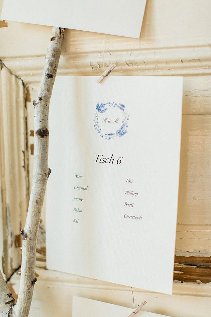 Hochzeitsdekoration-tischplan